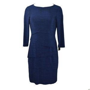 Tahari Women Jersey Shift Dress Size 6 New